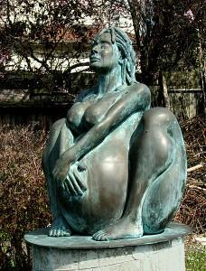 Fertility statue at Picardo Farm - Photo by Larry Neilson