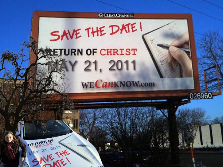 may 21 2011. the rapture: May 21, 2011.