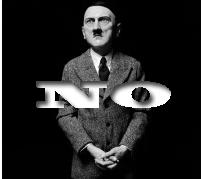 NO Hitler