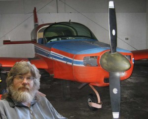 Darryl and plane