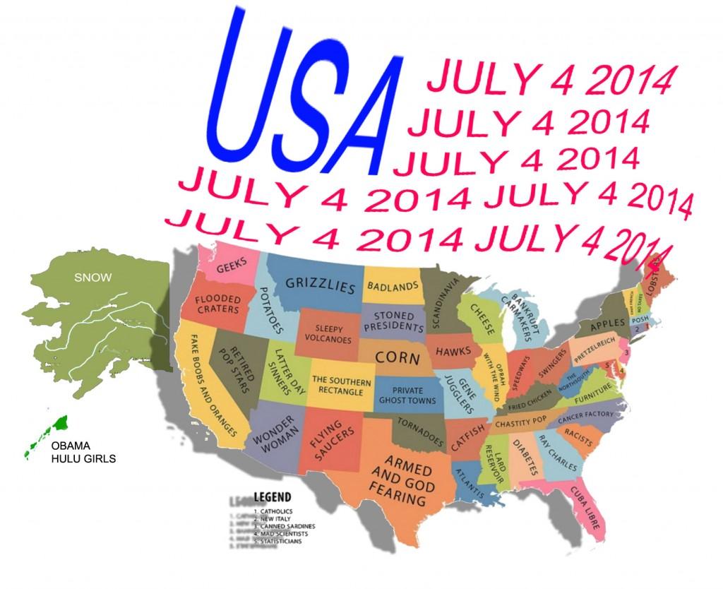 July 4 2014