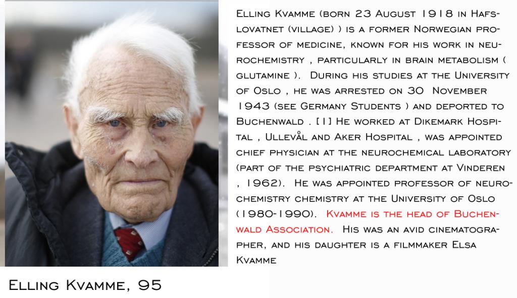 Buchenwald Survivors Kvamme