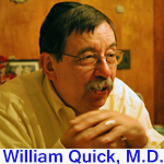 """Dr. Quick lives in South Carolina where he provides medical advice to diabetics at his website """"d-is-for diabetes""""  http://www.d-is-for-diabetes.com/shareposts.htm"""