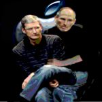 Apple Cox and Jobs icon
