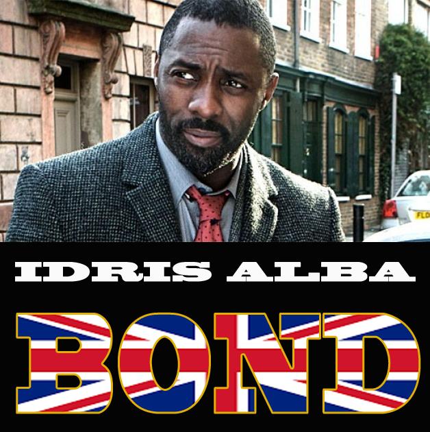 New bond idris alba