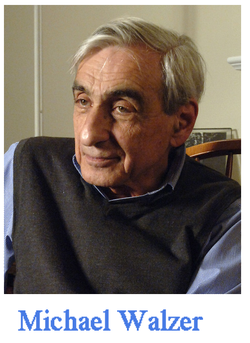 Michael Walzer is a prominent American political philosopher and public intellectual. A professor emeritus at the Institute for Advanced Study in Princeton, New Jersey and editor emeritus of Disent.