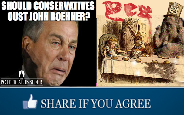 Boehner and the tea party