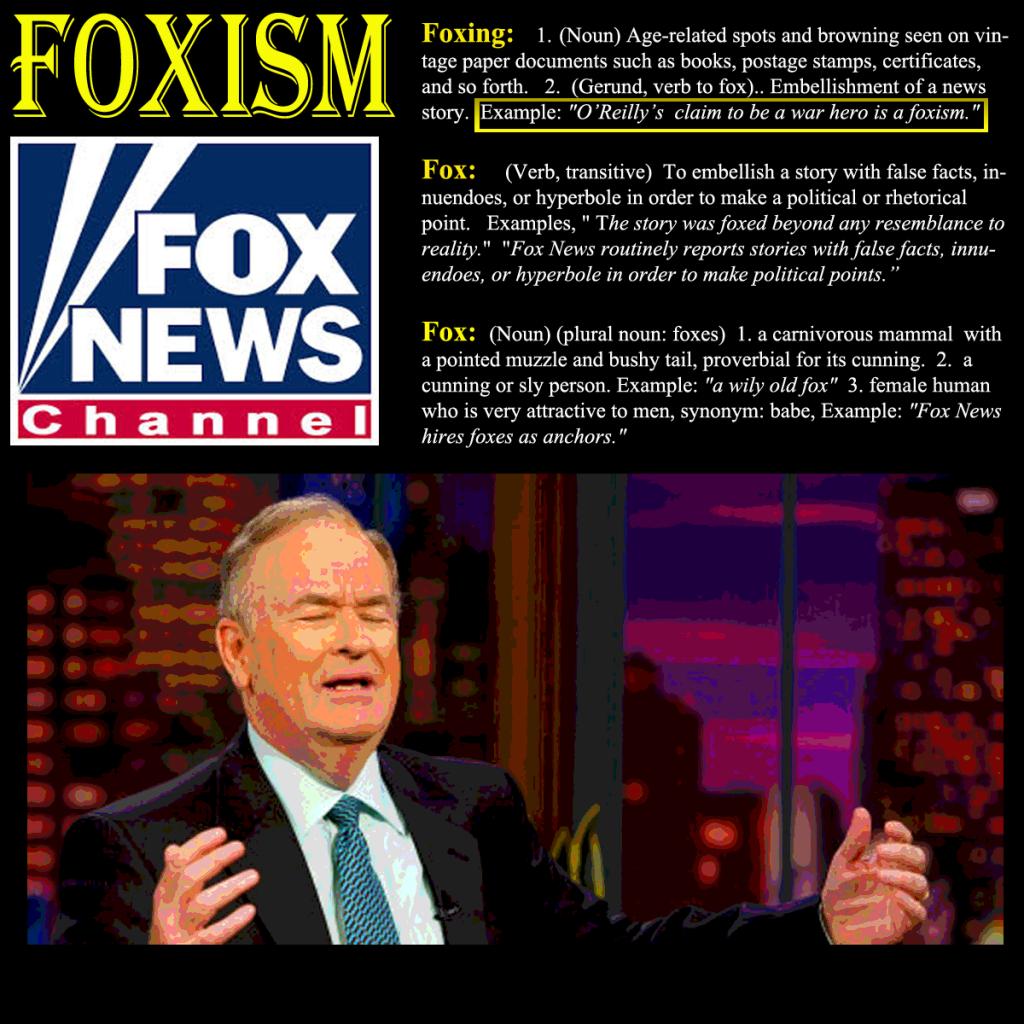 foxism O'reilly