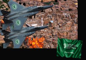 Saudi Jets over Yemen