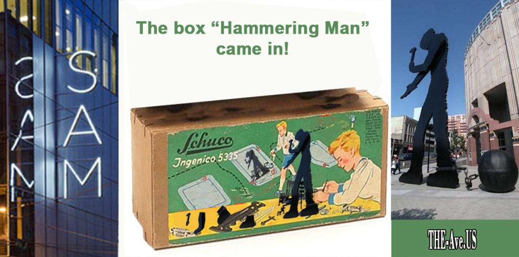 The box hammering man came in ver 2 flat