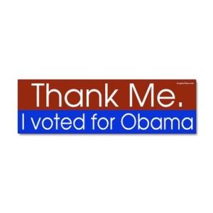 thank_me_i_voted_for_obama_bumper_sticker