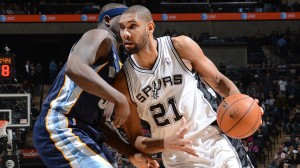Tim Duncan's post up game is a work of art.