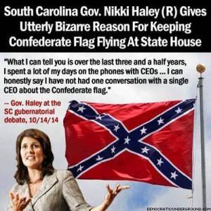 nikkihaleyconfederateflag