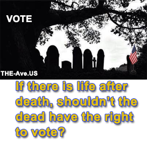 Right to vote after death