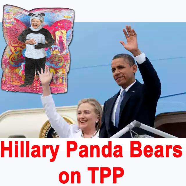 Panda Hillary