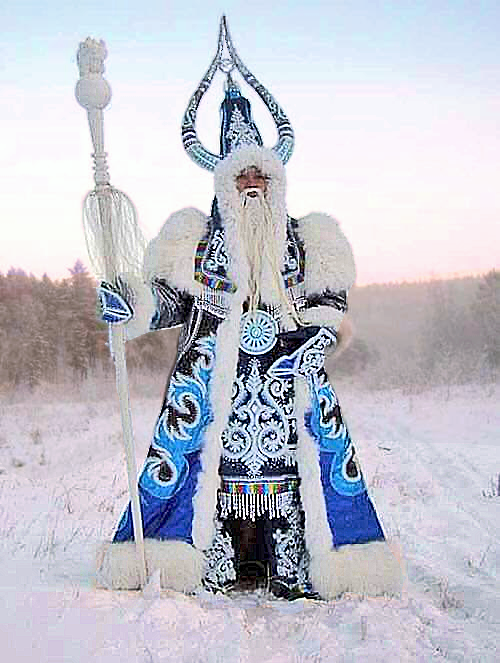 Russian Christmas santa claus