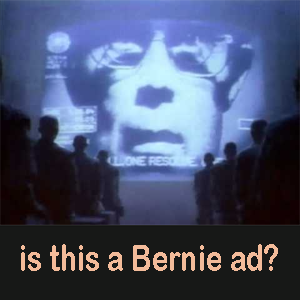 Bernie IBM Apple ad