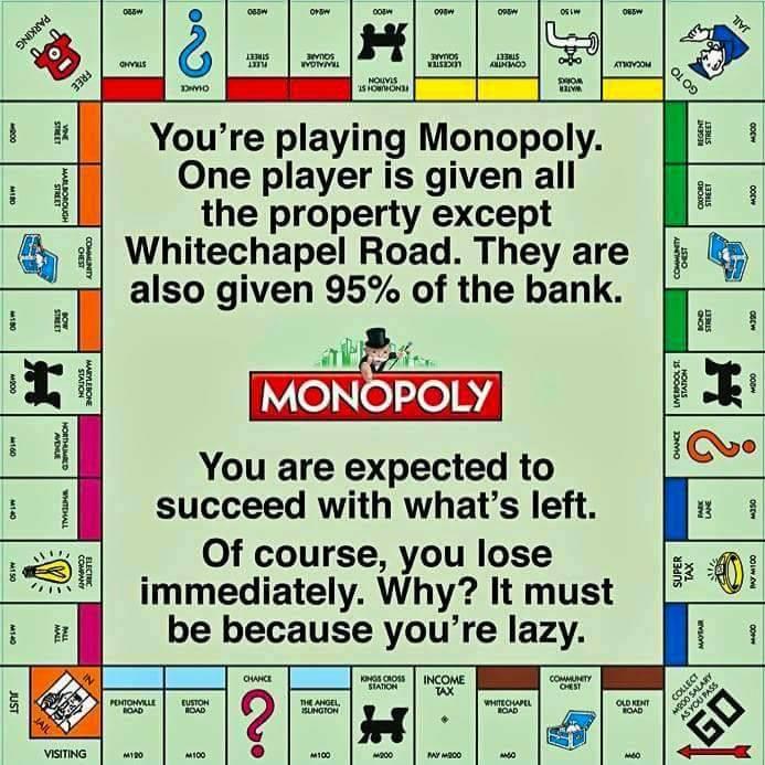 Monopoly republicans 1% money wealth