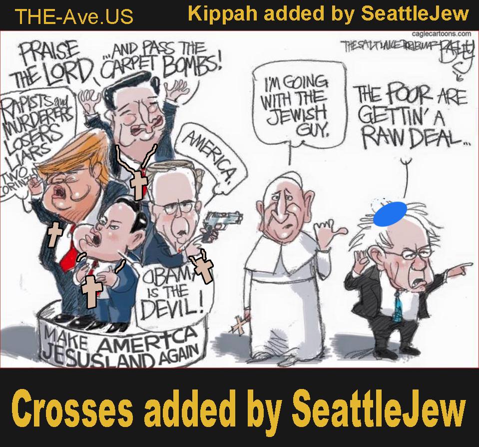 The Jew in the race Bernie