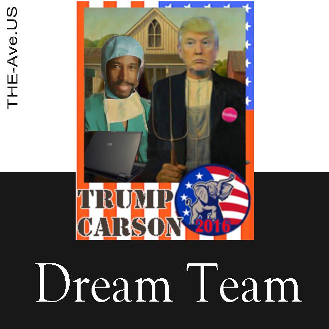 Trump Carson Dream Team
