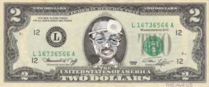 BerCaeson 2$ bill