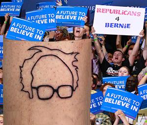 Bernie hair