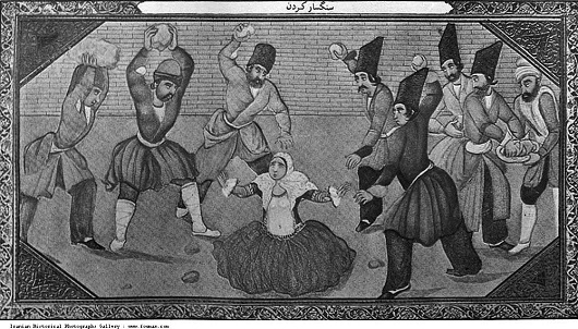 Qajar_Stoning_Adultery_Death