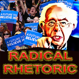 Sanders radical rhetoric
