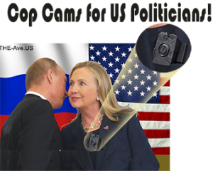 The logical follow on is to require our diplomats to where cop cams!