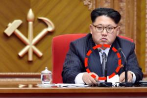 Kim Jung Un in a tie