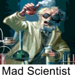 Mad Scientist oster ico