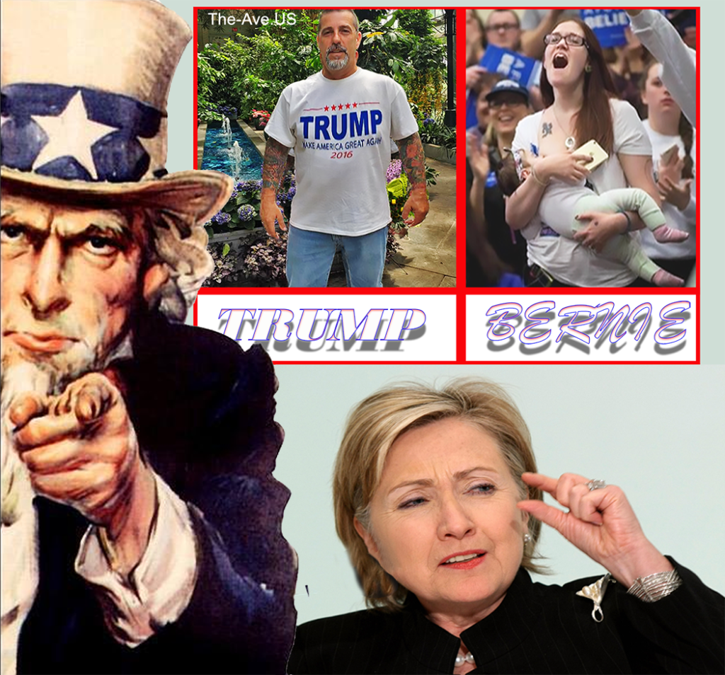 Trump vs Bernie The comparison You choose