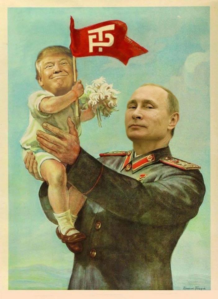 Trump Pense Putin