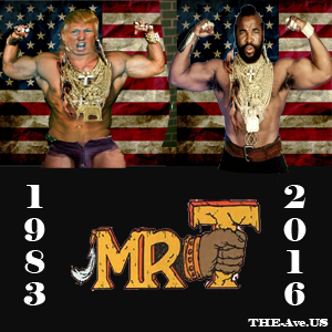 Mr T logo TRUMP ico
